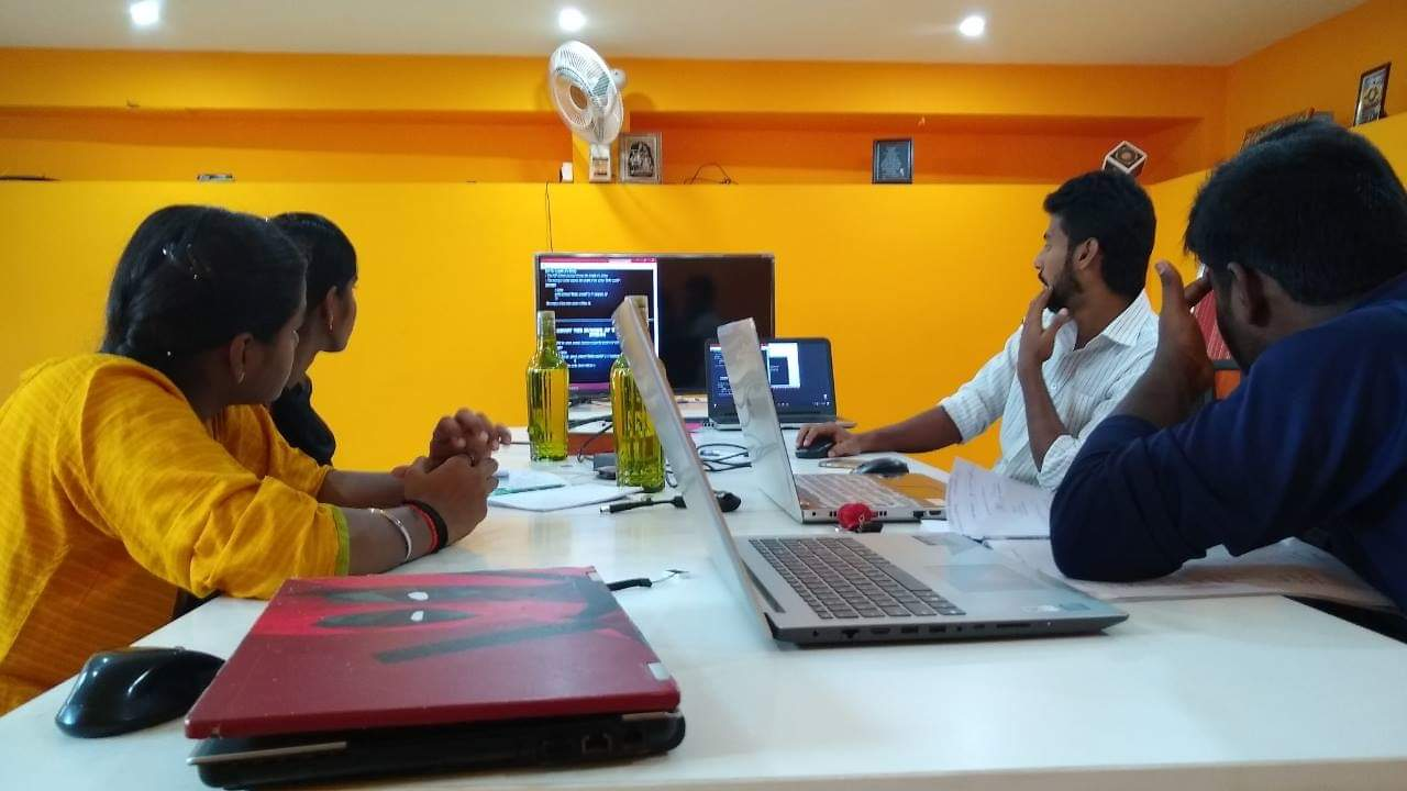 Real Time Project training on web application